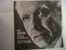 LP BARTOK concerto for orchestra Leopold Stokowski