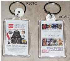 Star Wars Porte Cles officiel Fan Club Star Wars Lego keychain SDCC 2010