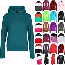 Womens Jumper Long Sleeve Hoodie Ladies Fleece Jacket Hoodies Hooded Sweatshirt
