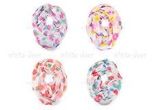 Mums Flower Floral Print Block Circle Loop Wrap Infinity Scarf Casual Fashion