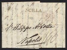 Lettera da Scilla 7 Feb 1813 a Napoli