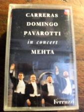 "CARRERAS DOMINGO PAVAROTTI  ""IN CONCERT  ""MEHTA""   MC"