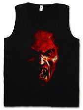 DEMON HEAD WOMEN TANK TOP Pentagramm Satan Hell Satanism Pentacle Monster