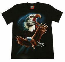 T-Shirt Adler Gr. S M L XL Weißkopf-Seeadler Eagle Indianer Biker Western Rocker