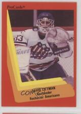 1990-91 ProCards #269 David Littman Tri-City Americans (WHL) Rookie Hockey Card