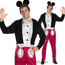 CL864 Mens Disney Mickey Mouse Halloween Fancy Dress Fairytale Book Week Costume
