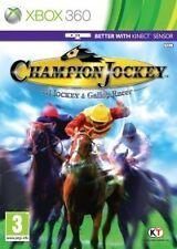 CHAMPION JOCKEY G1 JOCKEY & GALLOP RACER for XBOX 360