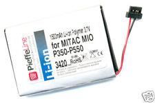Batteria palmare per Mio Mitac P350 P550 1500mAh