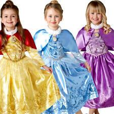 Hiver Disney Princess Robe FANTAISIE Fille Conte De Fée Livre Jour Enfants Enfant Costume