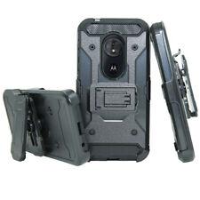 Shockproof Belt Clip Holster Case For Motorola Moto G7/6/5/4/E4/5/Z3/4/X4 Play