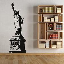 Wandtattoo Freiheitsstatue New York Amerika Aufkleber Wall Wand Tattoo #2077