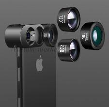 4K HD Cell Phone Camera Lens Fisheye Wide Macro Telephoto For iPhone XS Max XR 8