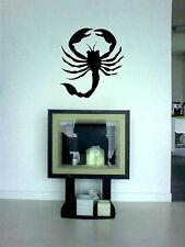 Wandtattoo Scorpion, aus Wandfolie, geschnitten, wallart leicht aufzukleben