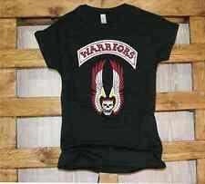 T-Shirt girocollo manica corta donna J341_donna Warriors I guerrieri della notte