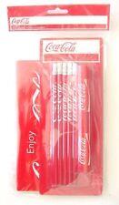 Coca Cola Schreibset 5 Bleistifte, 2 Klebestifte,1 Heft