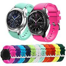 22mm Sport Silikon Armband Uhrenarmband für Samsung Galaxy Gear S3 Classic Uhr