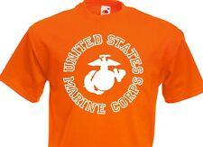 United States Marino CORPS Camiseta INSIGNIA US ARMY 3-5xl Drill Instructor USMC