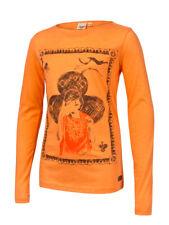 Protest DENICA JR Mädchen LA Shirt mit Print + Nietenverzierung Apricot %27,99%