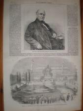 Judge Thomas Chandler Haliburton 1865 print