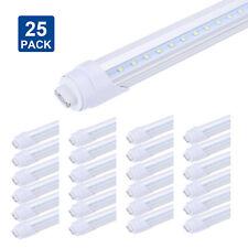 65W V Shaped LED Tube T8 F96 8FT 45W R17D Replace HO Fluorescent Lamp light Bulb