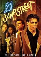 21 Jump Street - The Complete Fourth Season (DVD, 2011, 4-Disc Set)