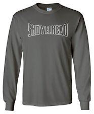Shovelhead Arched LONGSLEEVE T-shirt - S to 5XL Harley Davidson Biker Sturgis