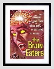 Movie film brain eaters sci fi horreur alien nelson usa encadrée art imprimé B12X3333