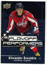 2009-10 Upper Deck Playoff Performers Alexander Ovechkin