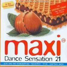 Various Maxi Dance Sensation 21 Doppel-CD  Rar