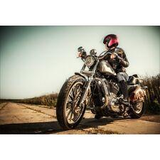 Stickers muraux déco : Moto Harley 1611