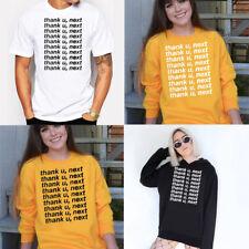 Ariana Grande T-Shirt thank u,next Sweatshirt Hoodie Pullover S M L XL XXL XXXL