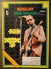 FACHBLATT MUSIC MAGAZIN 1981 # 5 - CHRIS THOMPSON WHITESNAKE SATIN WHALE BOSE