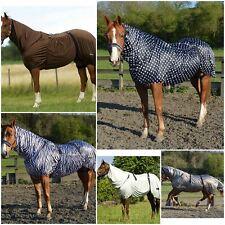 Poney cheval fly moucheron eczéma combo tapis respirant housse d'été couverture toutes tailles