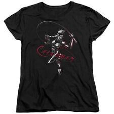 Batman Comic Book Superhero Icon Catwoman's Prance Women's T-Shirt Tee