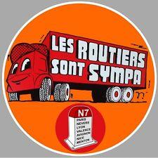 """Sticker """" LES ROUTIERS """""""