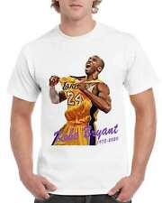 Kobe Bryant Shirts Basketball Black Mamba Men's T-Shirt Sizes S-3Xl