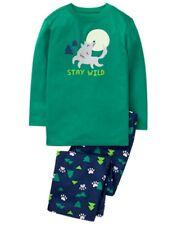 NWT Gymboree Boys Pajama set Wolf Stay wild Glow in Dark 3,4,5/6,7/8,10/12,14