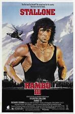 RAMBO 3 MOVIE POSTER FILM A4 A3 ART PRINT CINEMA