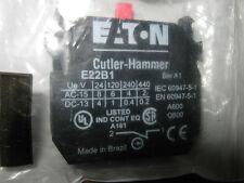 CUTLER-HAMMER E22B1 CONTACT BLOCK BOX OF 3 SER A1 SEE PICS FOR SPECS.