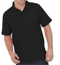 Uneek Polo Shirt Work Wear Top Quality Blue Black Grey White Sports Plain Heavy