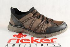 Rieker Zapatillas de hombre, marrón memosoft-innensohle b4871 NUEVO