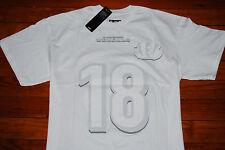 NEW #18 AJ Green Cincinnati Bengals White Jersey T-Shirt (Large, X-Large)