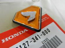 Honda CB 750 Four K2 - K6 Seitendeckel Diamant Emblem Öl Tank Neu 87127-341-000
