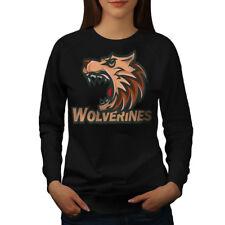 Wolverine Beast Animal Women Sweatshirt NEW | Wellcoda