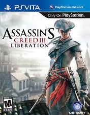 Assassins Creed III Liberation, (PS Vita)