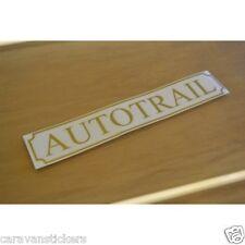 Autotrail Classic Nombre Adhesivo Calcomanía Gráfico - (versión abierta) - Par