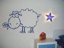 Wandtattoo fürs Kinderzimmer Wandtattoos Aufkleber Kinder  Baby - Schaf -68174