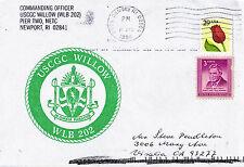 Uscgc Willow WLB 202 GUARDIA COSTIERA USA BOA TENDER Naval inseriti nella cache COVER
