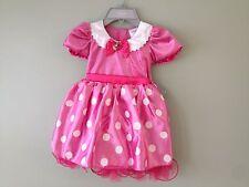 NWT Disney store Minnie Mouse Costume Dress 4T, 5/6 Girls