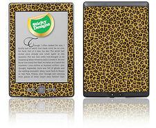Amazon Kindle 4 Ebook Reader-Leopardo Fur Piel pegatina cubierta